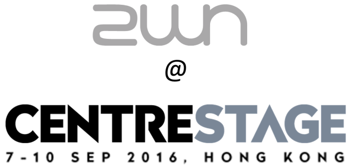 2WN exhibiting at CENTRESTAGE Hong Kong 2016. Fashion Week, runway show